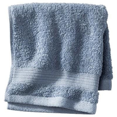 Performance Solid Bath Sheet Washed Blue - Threshold™