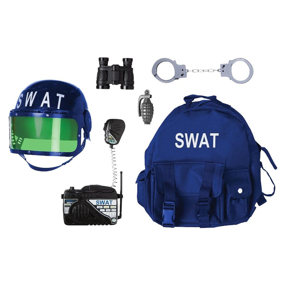 Boys Gear to Go Swat Adventure Play Set, Black