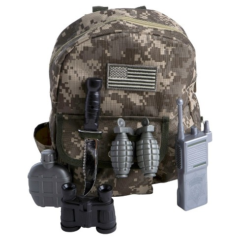 Halloween Child Gear to Go Army Ranger Adventure Play Set One Size Fits Most - image 1 of 1