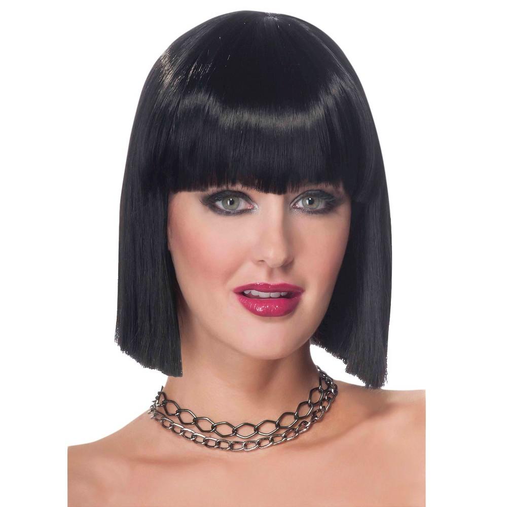 Womens Vibe Wig Black, Costume Hair
