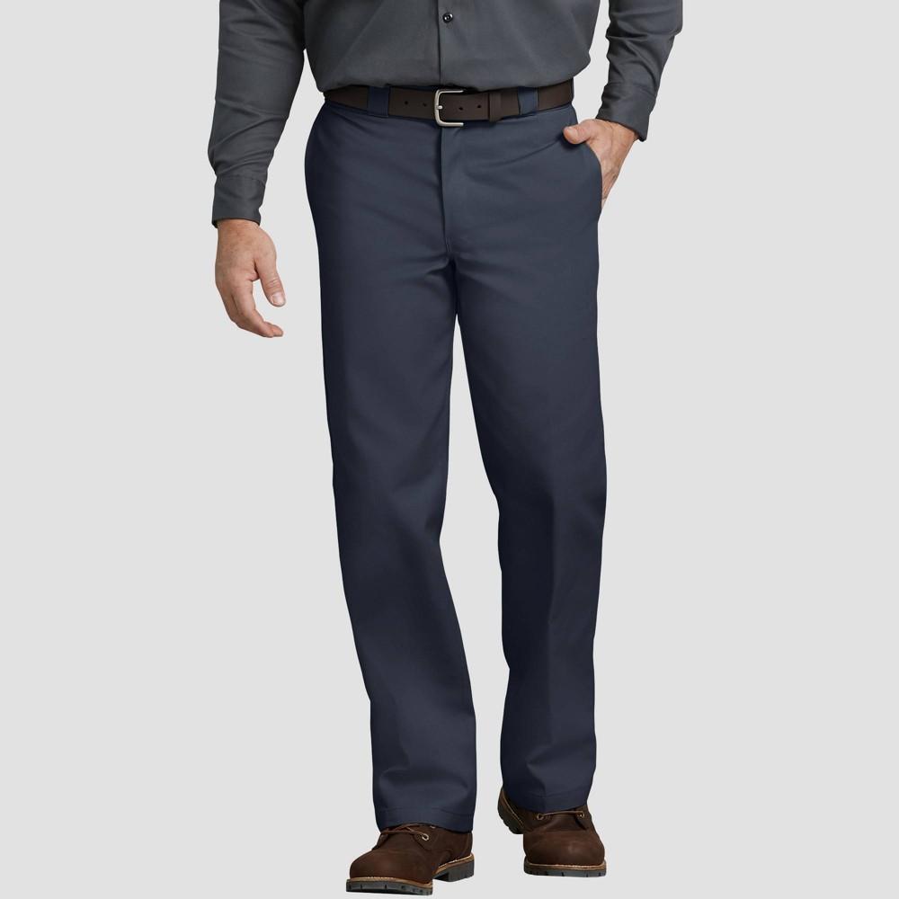 Dickies - Mens Big & Tall Original Fit 874 Twill Pants Dark Navy 46x32