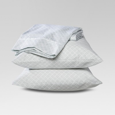 Performance Sheet Set (King)Blue 400 Thread Count - Threshold™