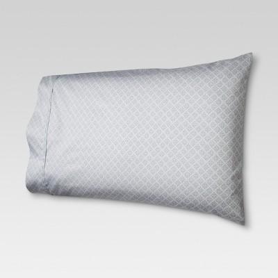 Performance Printed Pillowcase (King)Blue 400 Thread Count - Threshold™
