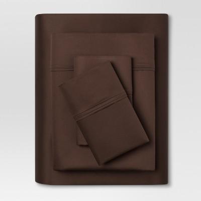 Performance Sheet Set (Full)Brown 400 Thread Count - Threshold™