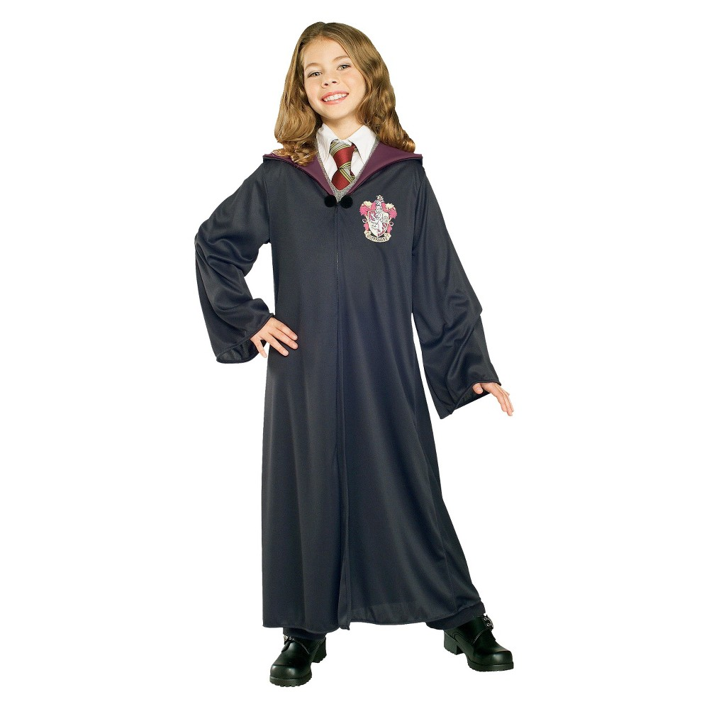 Harry Potter Kids Gryffindor Robe Costume - Small, Boys, Size: S(4-6), Variation Parent