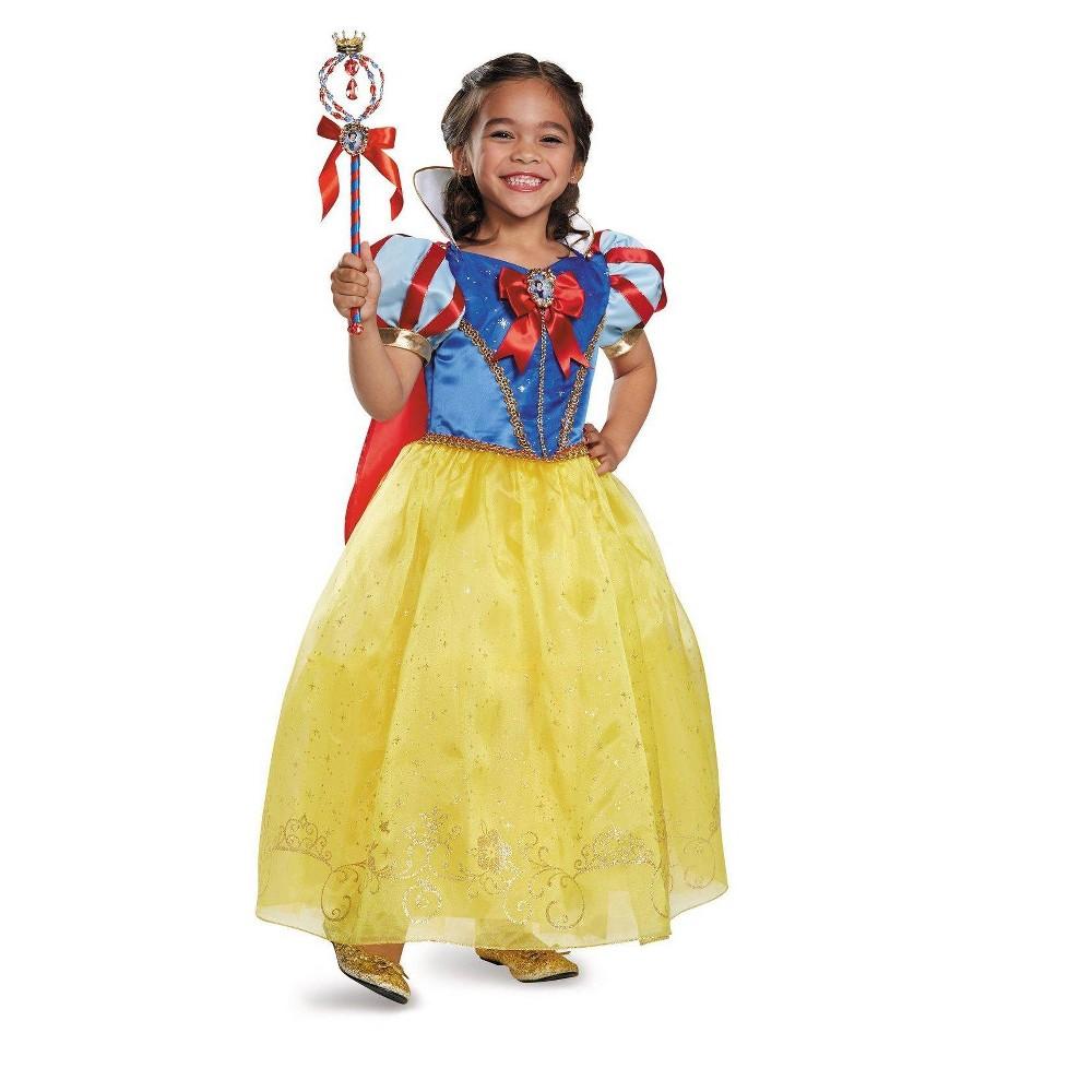 Girls Disney Princess Storybook Snow White Prestige Costume - M (7-8), Size: M(7-8), Variation Parent
