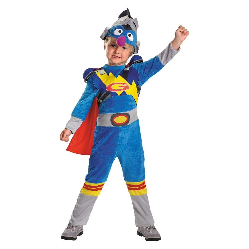 Sesame Street Toddler Super Grover 2.0 Costume 3T-4T, Toddler Boys, Variation Parent