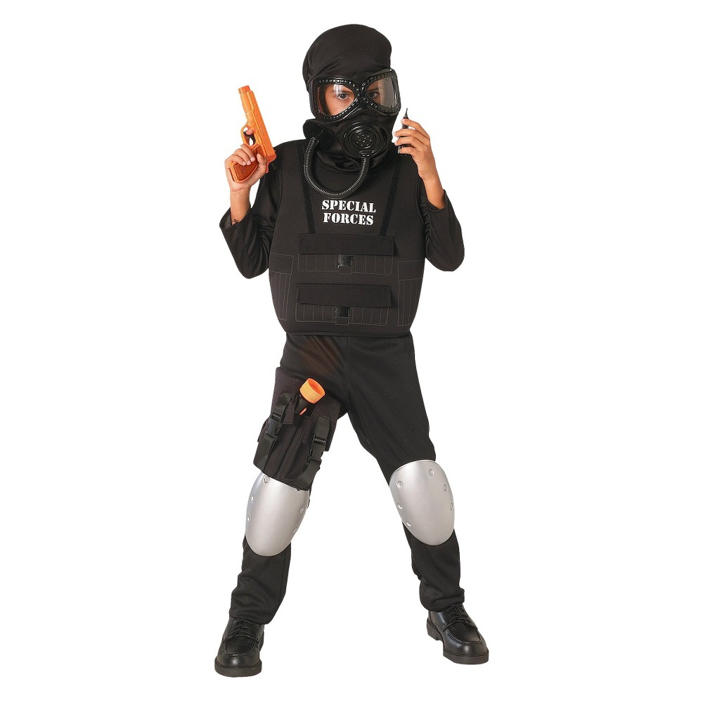 Boys Special Forces Officer Costume Small (4-6), Size: S(4-6), Variation Parent