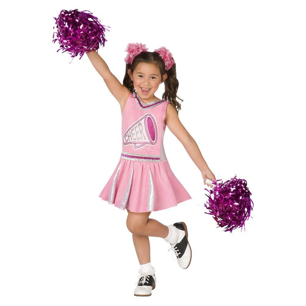 Girls Cheerleader Costume Medium (8-10), Size: M(8-10), Variation Parent