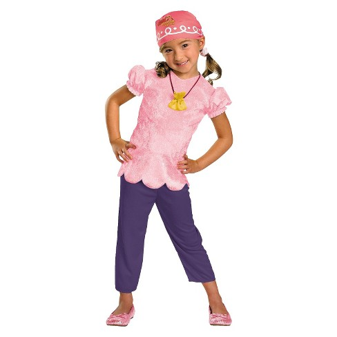 Disney Jake And The Neverland Pirates Girls' Izzy Classic Costume - image 1 of 1
