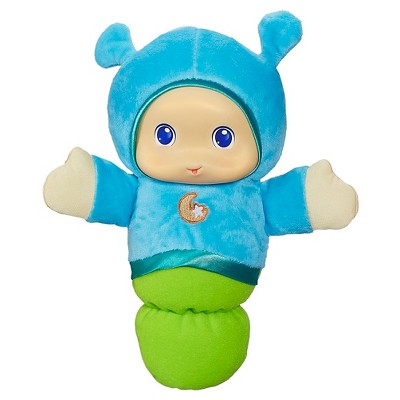 Playskool Play Favorites Lullaby Gloworm Toy - Blue