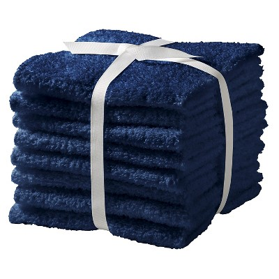 Washcloth Set 8pk Nighttime Blue - Room Essentials™