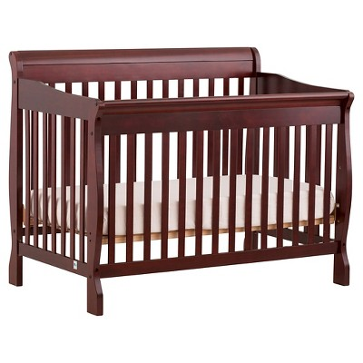 Stork Craft Modena 4-in-1 Fixed Side Convertible Crib - Cherry