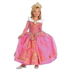 Girls' Storybook Aurora Prestige Costume