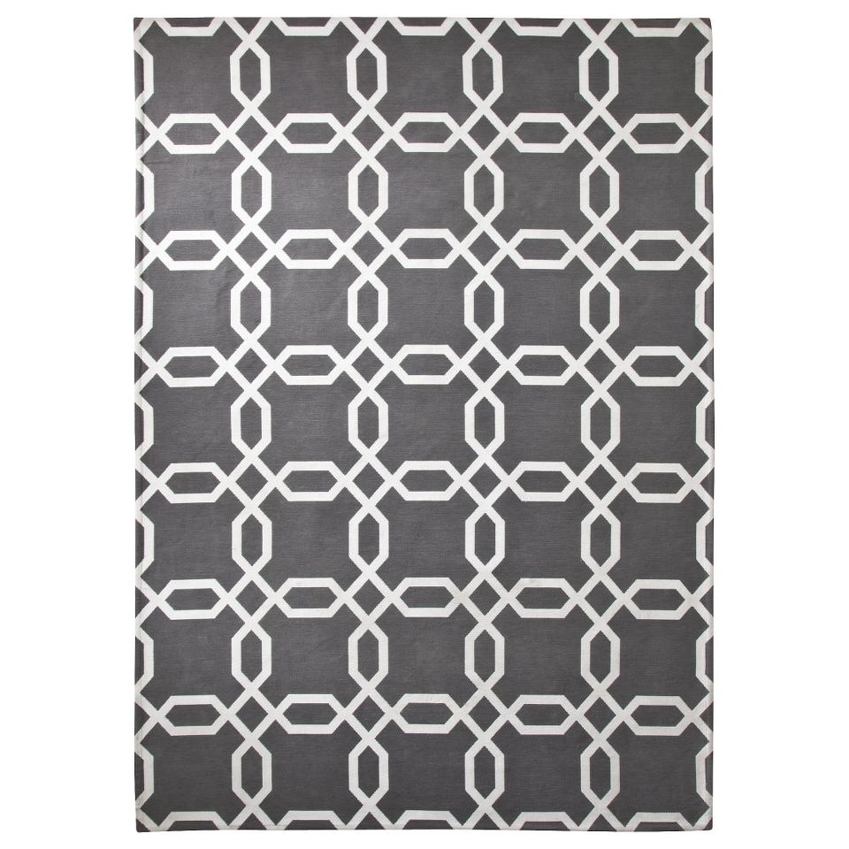 Room 365 Geometric Area Rug   Gray (5x7)