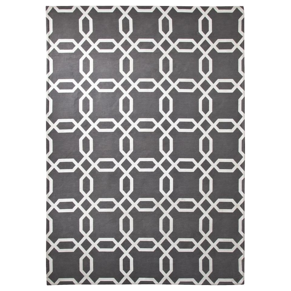 Room 365 Geometric Area Rug   Gray (7x10)