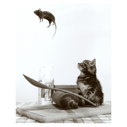Art.com - Cat and Mouse - image 1 of 2