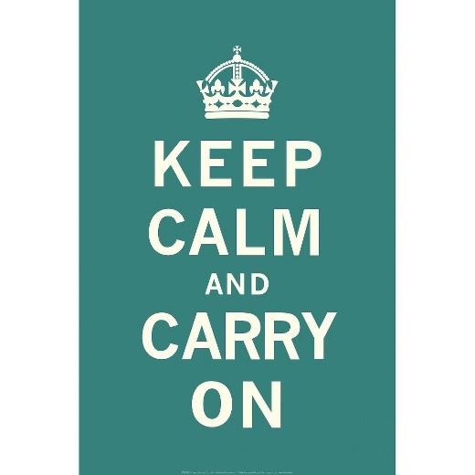 keep calm and carry on teal art print target. Black Bedroom Furniture Sets. Home Design Ideas