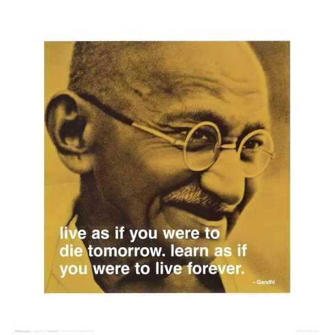 Art.com - Gandhi: Live and Learn - image 1 of 2