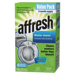 Affresh Washing Machine Cleaner - 6ct