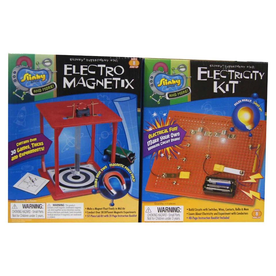 Alex Brands Scientific Explorer 03004 Electro Magnetix/Electricity Kit Combo