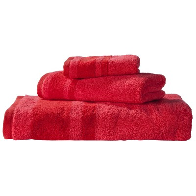 Stripe Washcloth Red - Room Essentials™
