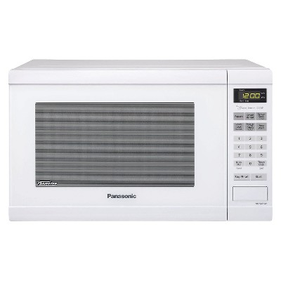 Panasonic 1.2 Cu.Ft. 1200 Watt Counter Microwave Oven - White NN-SN651W