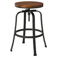 The Industrial Shop Dakota Adjustable Stool