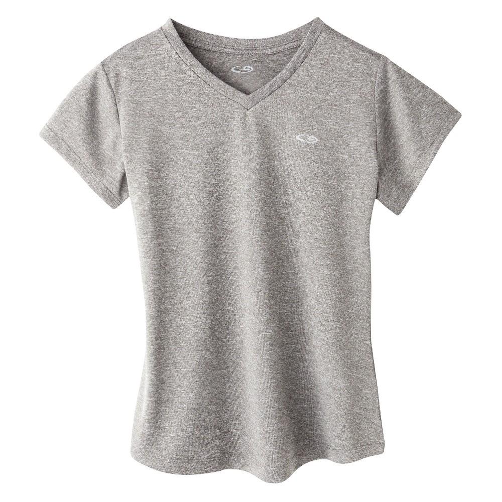 Girls Tech T-Shirt Hardware - C9 Champion Gray Heather M, Hardware Gray Heather
