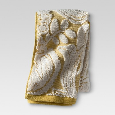 Floral Hand Towel - Yellow - Threshold™