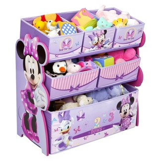Disney Minnie Mouse Multi-Bin Toy Organizer by Delta Children