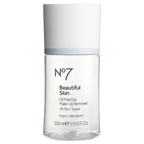 No7® Beautiful Skin Oil Free Eye Make-Up Remover - 3.3oz - image 1 of 1