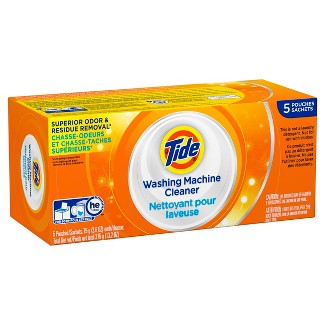 Tide High Efficiency Washing Machine Cleaner - 5ct