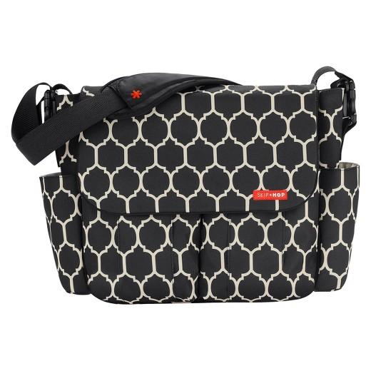 skip hop dash messenger diaper bag onyx target. Black Bedroom Furniture Sets. Home Design Ideas