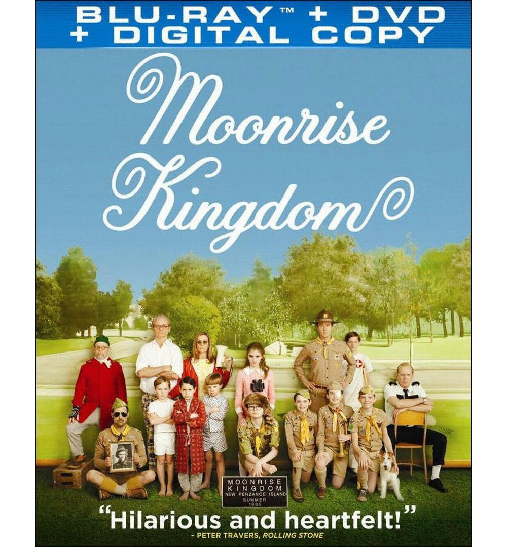 Moonrise Kingdom (2 Discs) (Includes Digital Copy) (UltraViolet) (Blu-ray/Dvd)