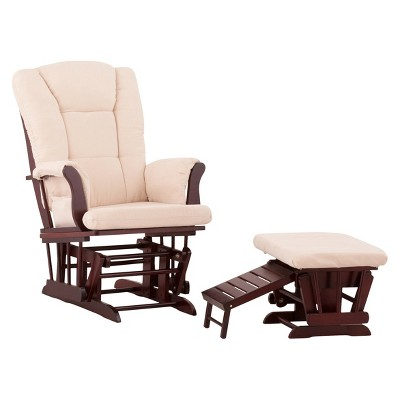 status veneto glider and nursing ottoman - Nursing Chair