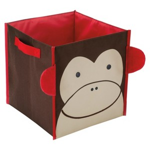 Skip Hop Zoo Little Kids & Toddler Storage Bin - Monkey