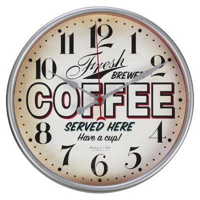Vintage Diner Wall Clock - Threshold™