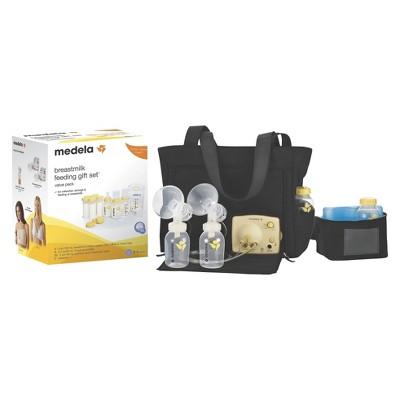 Medela Pump in Style Advanced Breast Pump Tote and Feeding Starter Kit Bundle
