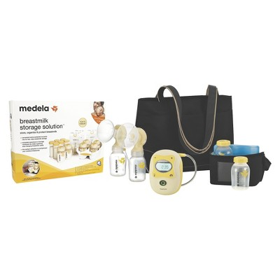 Medela Freestyle Hands-Free Double Electric Breast Pump with Storage Starter Kit Bundle