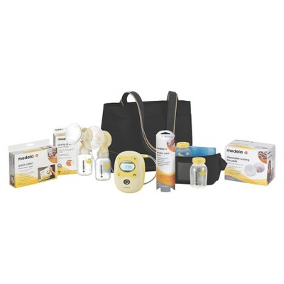 Medela Freestyle Hands-Free Double Electric Breast Pump with Accessory Kit Bundle