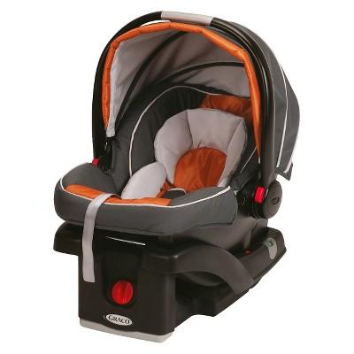 Graco® SnugRide® Click Connect™ 35 Infant Car Seat-Orange Sorbet