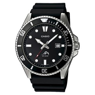 Casio Mens Black Dive-Style Sport Watch MDV106-1AV