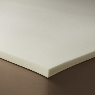 1 ½  Memory Foam Mattress Topper White (King)- Threshold™
