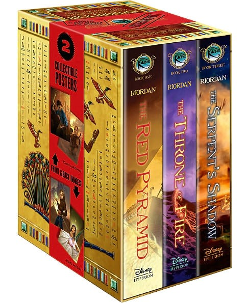 Kane Chronicles : The Serpent's Shadow / the Throne Fire / the Red Pyramid (Hardcover) (Rick Riordan) - image 1 of 1