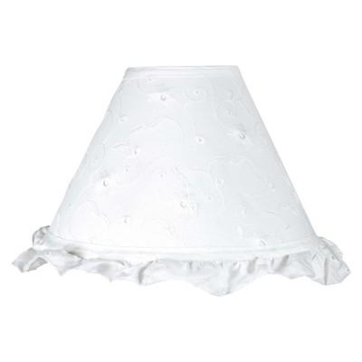 Sweet Jojo Designs Eyelet Lamp Shade - White