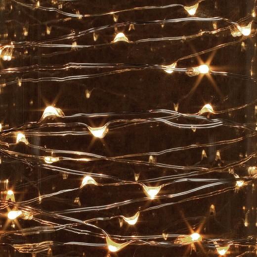 10 LED String Light with Timer - Warm White : Target