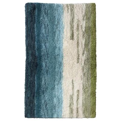 Ombre Bath Rug Trout Stream (20x34 )- Threshold™