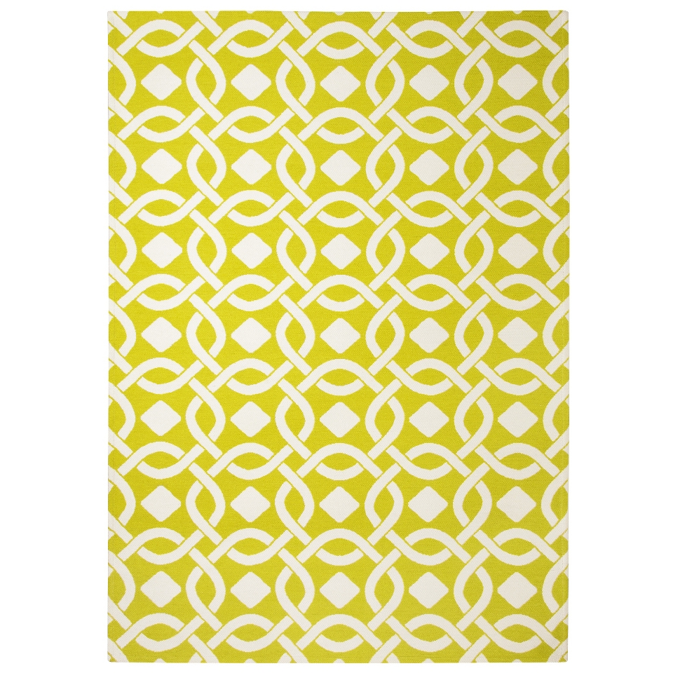 Threshold Indoor/Outdoor Area Rug   Lemon Lime (5x7)