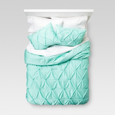 pinched pleat comforter set threshold